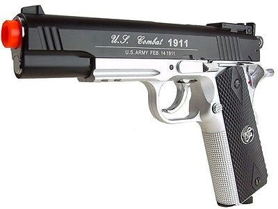 WG US Combat 1911 CO2 Non-Blowback Airsoft Pistol