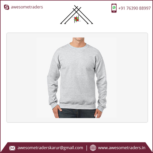 Heavy Adult Crewneck Sweatshirt with custom logo-MOQ 10 per size/colour @ US$7.50 per pc- Sizes: S-5XL