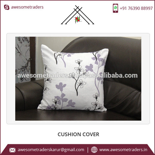 Fashion Design Printed Canvas Cushion Cover for Sale