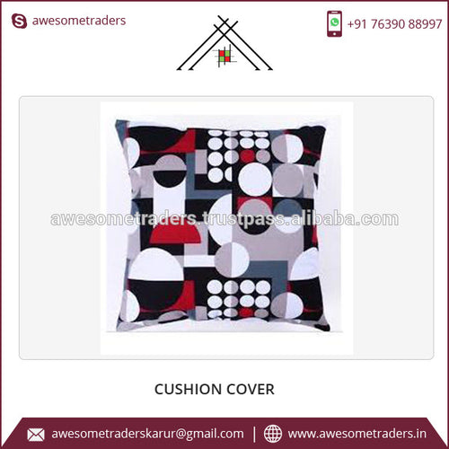 Cotton Material and Printed Pattern Different Shape Cushion Covers Supplier in India