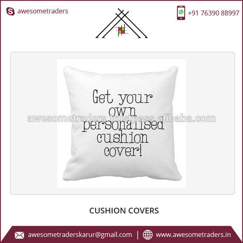 Get Your Own Personalized Cushion Covers with Custom Shape , Custom Print, Custom Text, Custom Colors at Affordable Rate