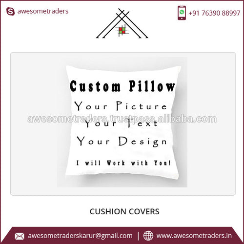 Custom Print Ethnic Indian Cushion Covers At Factory Rate