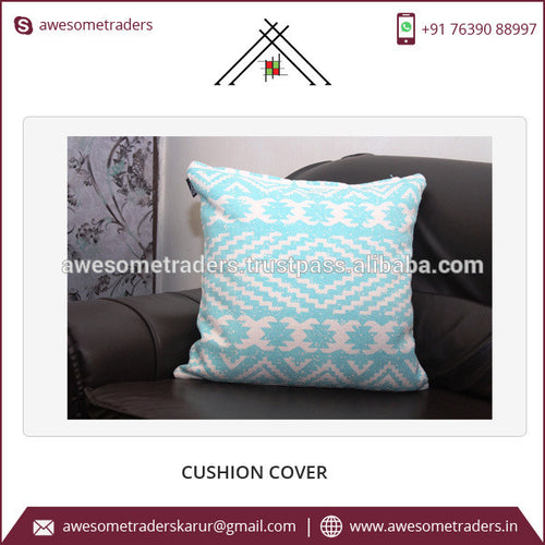 Competitive Price Decorative Sofa Pillow Covers Customized Square Shape 45x45cm Cushion Covers for Office Chairs