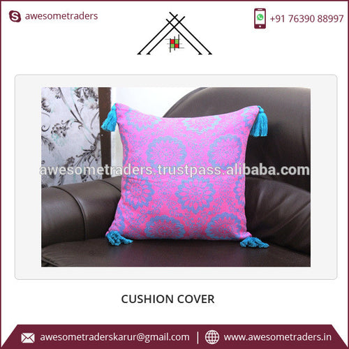 Cotton Cushion Cover With Own Print