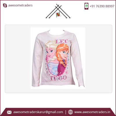 Disney group Girl's long sleeve tshirts-MOQ 10 pcs per sizes @ $1.25 per pc