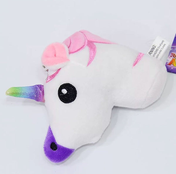 Unicorn Plush Keychain