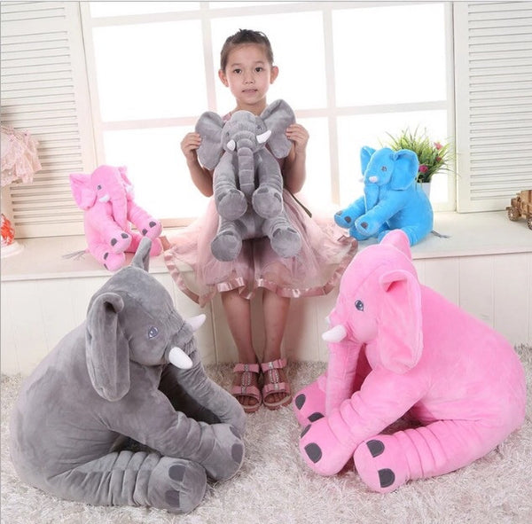 60cm Baby Elephant Pillow