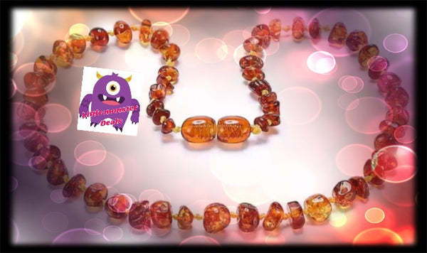100% Baltic Amber Teething Set