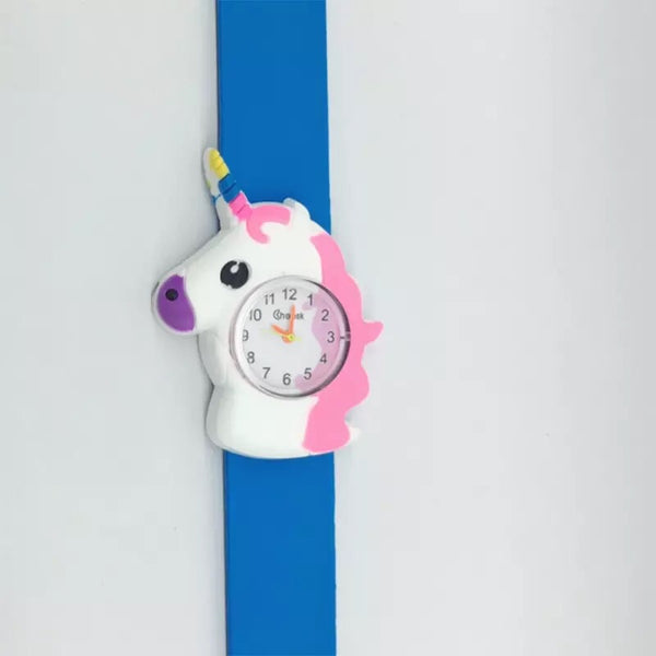 Kids Unicorn Slap Band Watches