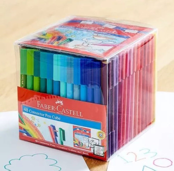 48 pack of Faber-Castell Texta Connector Pens