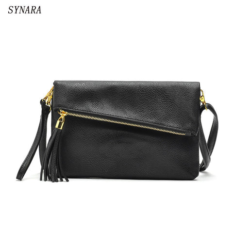 Fashion Women Envelope Leather Handbag - Uniquestylebrands