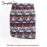 Boho style chic pencil skirt - Uniquestylebrands