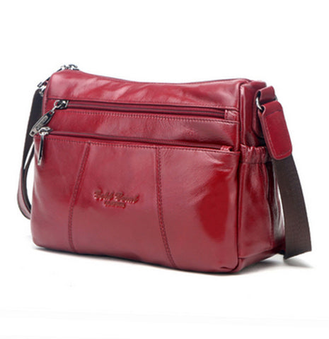 High Quality Genuine Real Leather Cowhide Bag - Uniquestylebrands