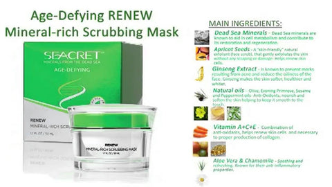 RENEW Mineral-Rich Scrubbing Mask - Uniquestylebrands