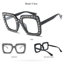 #Diamond Square Eye Wear - 8 Color Options - Including Clear
