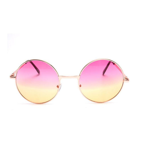 #Bonjour Round Sunglasses - 2 tone Ombre Color Options + More