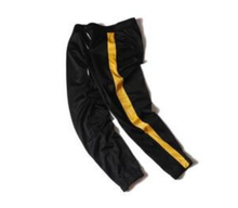 #Him or #Her OFFICIAL Track Pant - An Original - Single Bar Track Pant w/ Orange, Yellow, White Stripe