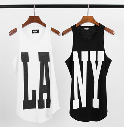 #LA or #NY Graphic Tank Top - Sweat Tank for #him or #her