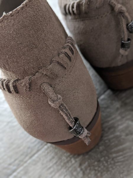 YELLOW BOX Pueblo Taupe Bootie