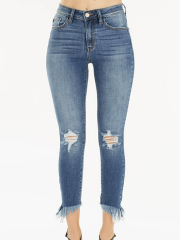 KANCAN High Rise Crop Skinny (KC9143M)