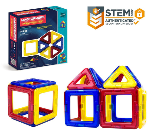 Magformers Primary Colors 14 piece Set