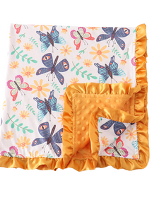 Animal Print V Stripe Sweater CURVY