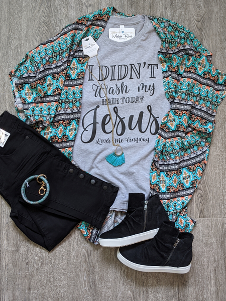 """Jesus Loves Me..."" Graphic Tee"