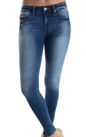 KANCAN Non Distressed Skinny KC7085YT