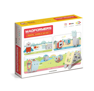 Magformers Animal Jumble 60 piece Set