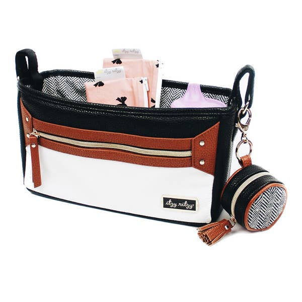 Itzy Ritzy Coffee & Cream Travel Stroller Caddy