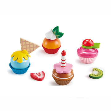 CupCakes Wooden Play Set