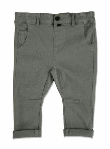 ME&HENRY Olive Woven Trousers