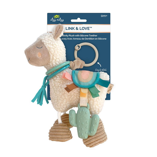 Link & Love - Activity Plush Teether Toy