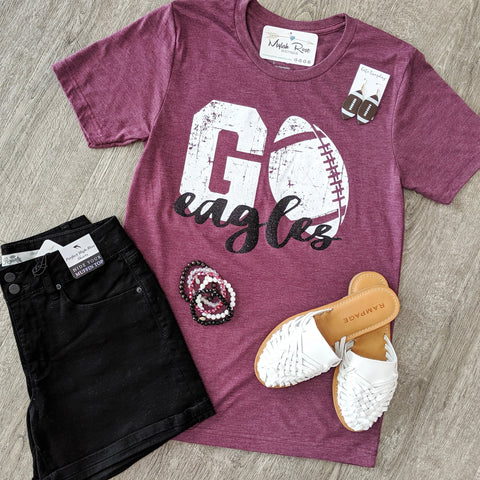 GO Eagles Football Tee