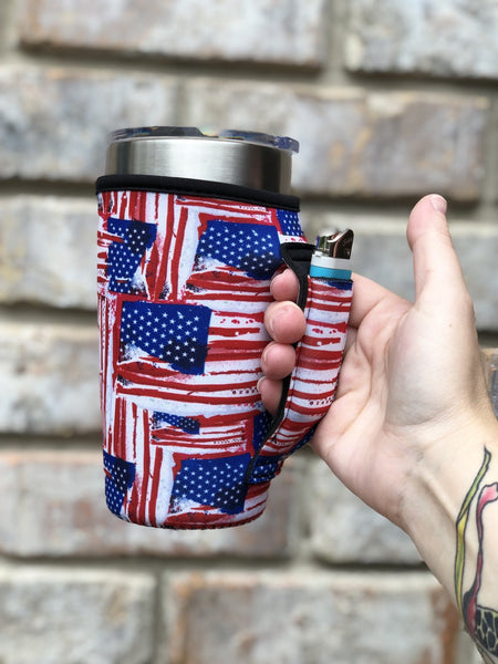 LIT Can Coolers - 20oz Tumbler with Handle
