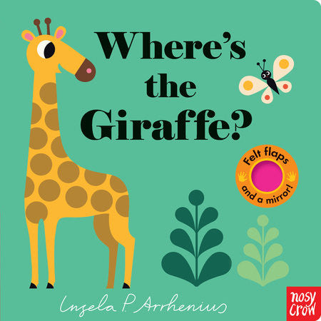 Where's the Giraffe? - Children's Book