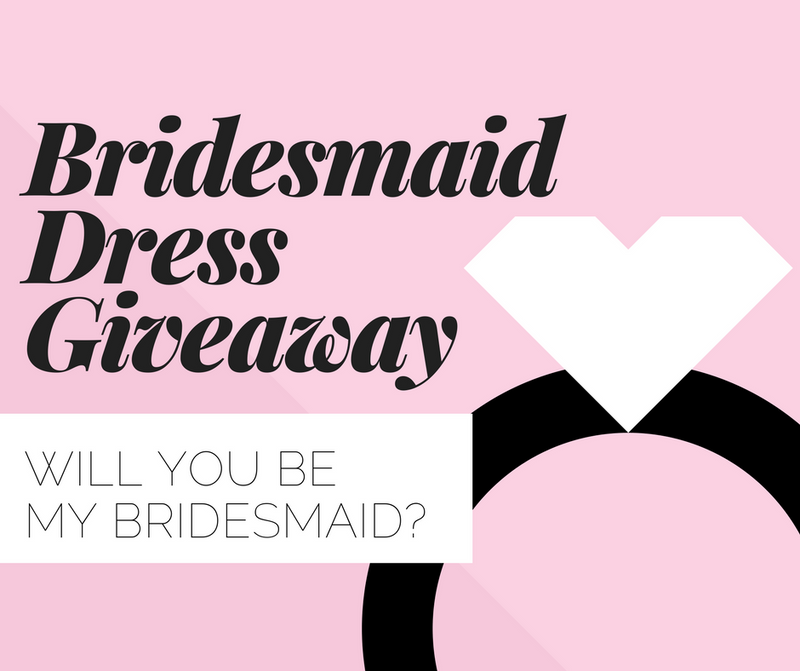 Bridesmaid Dress Giveaway Contest
