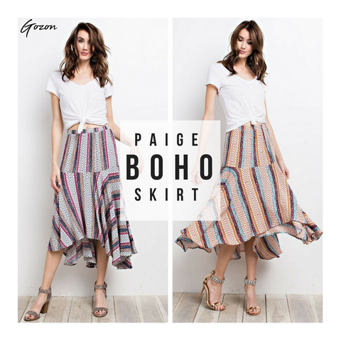 Paige Boho Skirt (Feature) - Boho: New Arrivals - GOZONCOM - 2/02/2018