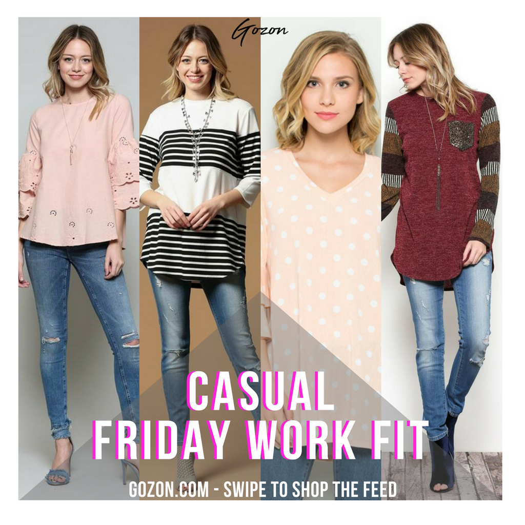 Casual Friday Work Fit - Casual Friday Work Fit - GOZONCOM - 1/26/18