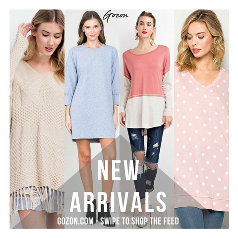 New Arrivals - Comfy Cozy Sunday Morning - GOZONCOM - 1/28/2018