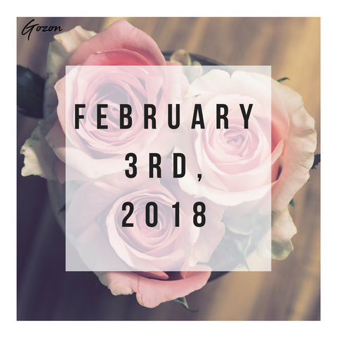 Blog Post - Romance Tones: New Arrivals - GOZONCOM - 2/03/2018