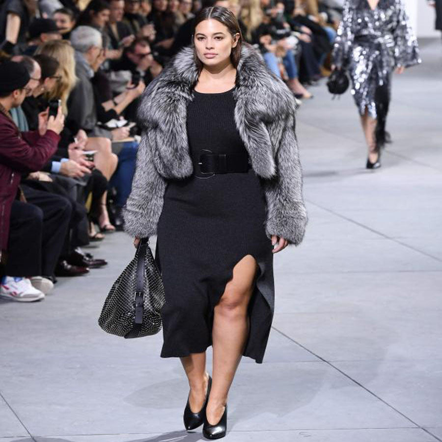 Ashley graham at Michael Kors