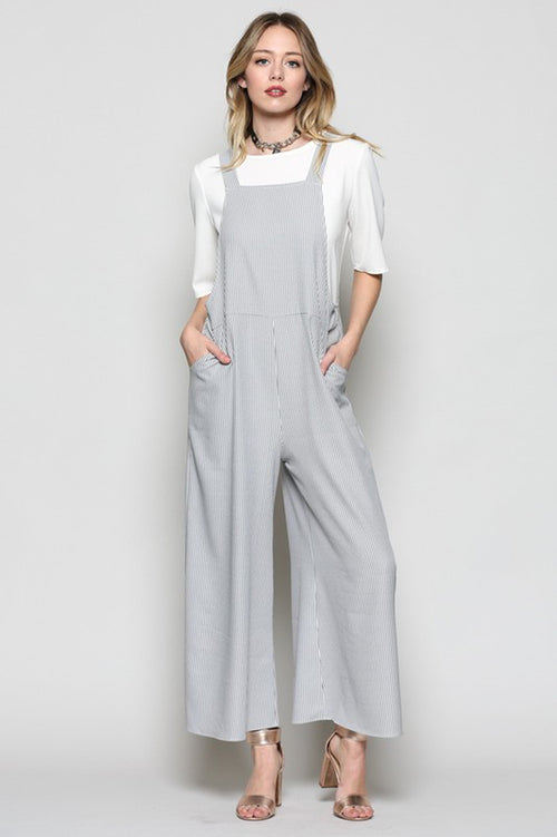 Clara Overall Jumpsuits : Black