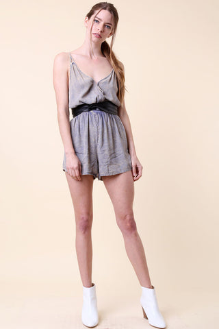 Mineral Wash Romper - Rompers & Jumpsuits - GOZON