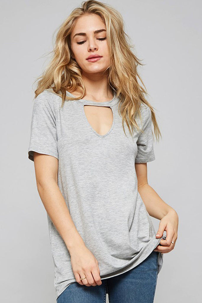 Casual Cutout Top - Shirts - GOZON