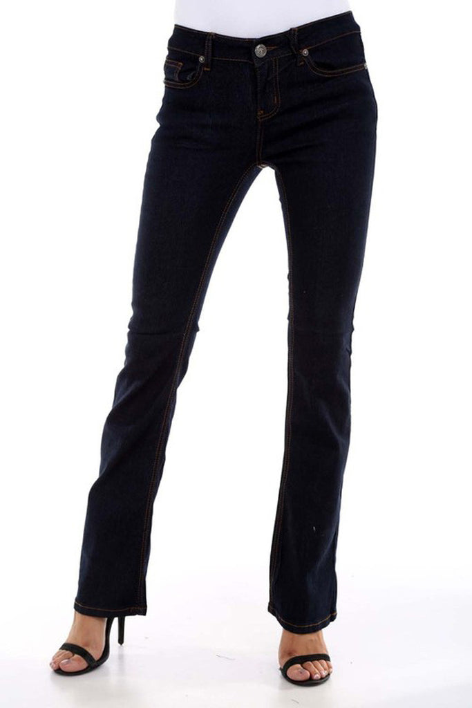 Flare Denim Pants -  - GOZON