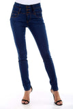 High Waist Skinny Jeans -  - GOZON