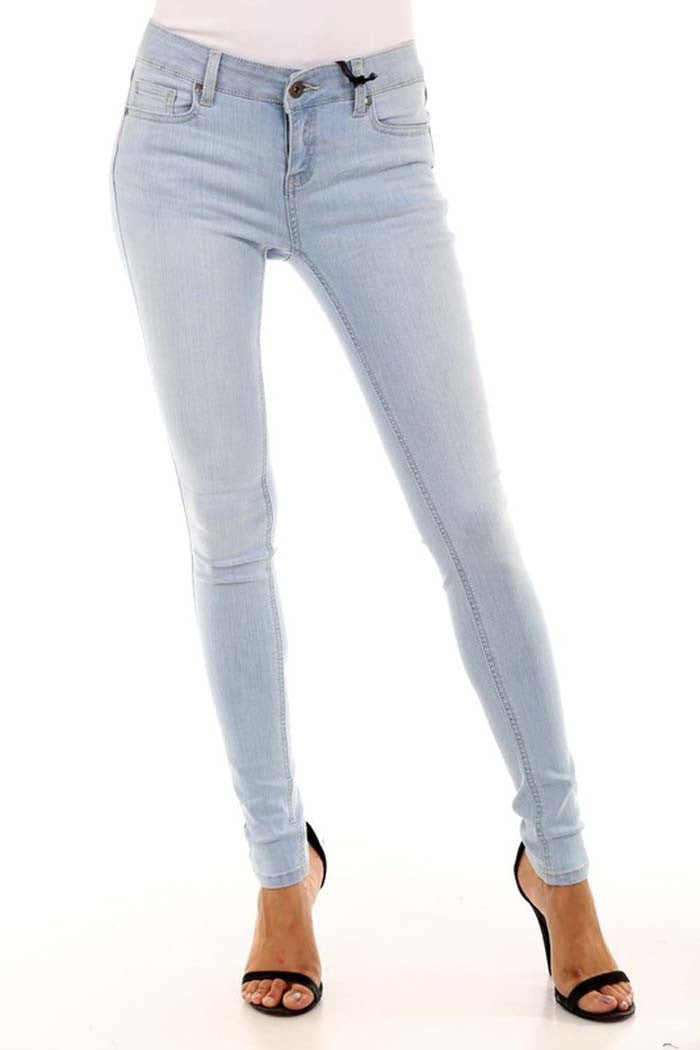 Long Length Skinny Jeans -  - GOZON