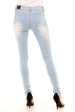 Cotton Skinny Jeans -  - GOZON
