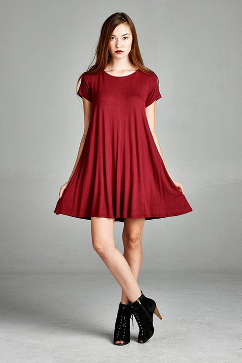 T-Shirt Swing Dress
